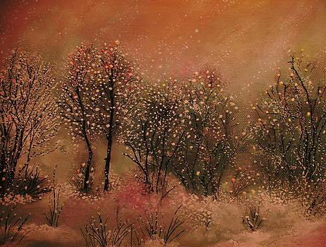 Winter tranquility by Milenka Delic