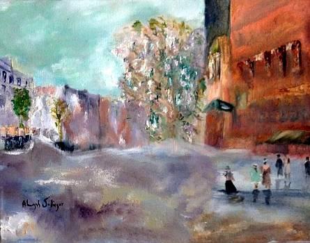 Winter Tree by Aleezah Selinger