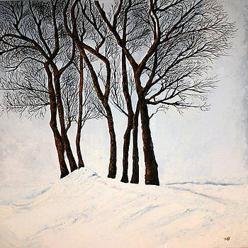 Winter Trees by Viv Griffiths