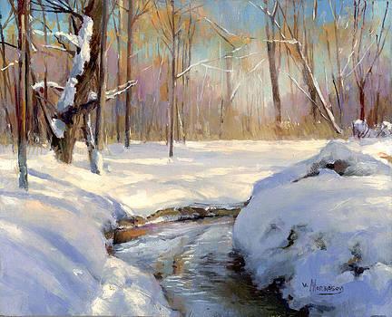 Winter by Victor Mordasov
