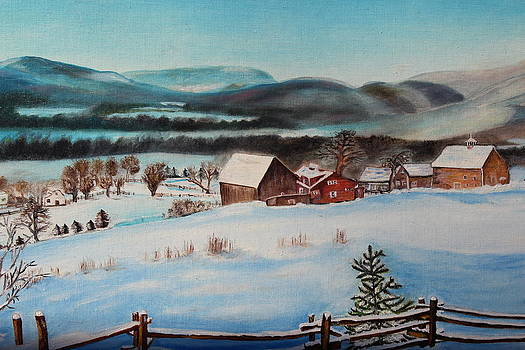 Christine McMillan - Winter Village