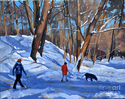 Winter Walk by Joan McGivney