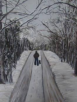 Winter Walk by Linda Clark