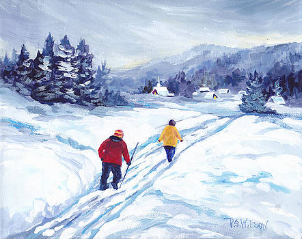 Peggy Wilson - Winter Walk