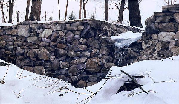 Winter Wall Two by Tom Wooldridge