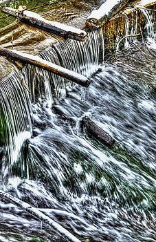 Nick Field - Winter Waterfall 2