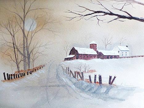 Winter White by Reta Haube