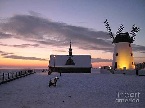 Winter Windmill by Heather Gordon