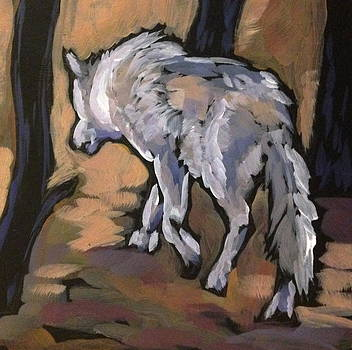 Winter Wolf by Kat Corrigan