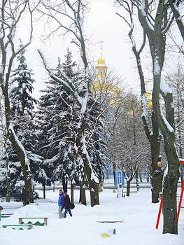 Winter Wonderland Kiev by Rick Todaro