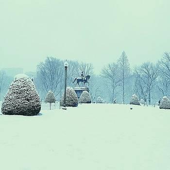 Winter Wonderland! #vscocam #boston by J Amadei