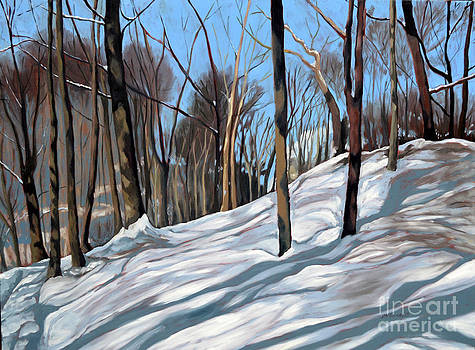 Winter Woods by Joan McGivney
