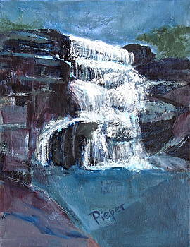 Betty Pieper - Wintergreen Falls as a Memorial