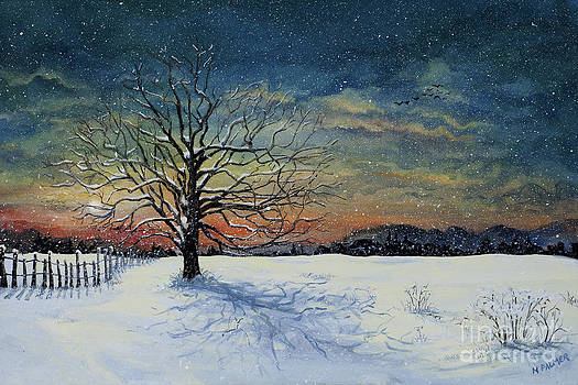 Winters Eve by Mary Palmer