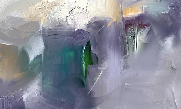 Winter's Reflection by Davina Nicholas