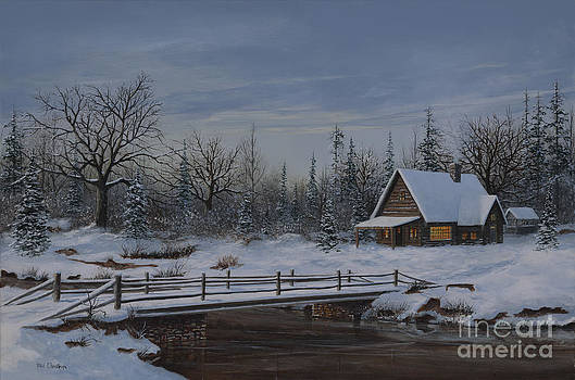 Winter's Warm Glow by Phil Christman