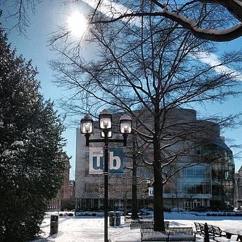 Wintery Gordon Plaza  by Toni Martsoukos