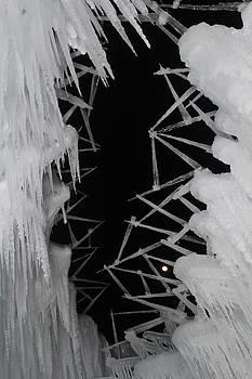 Wintery Ice Farming  by Jeffery Akerson