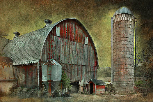 Wisconsin Barn - Series by Jeff Burgess