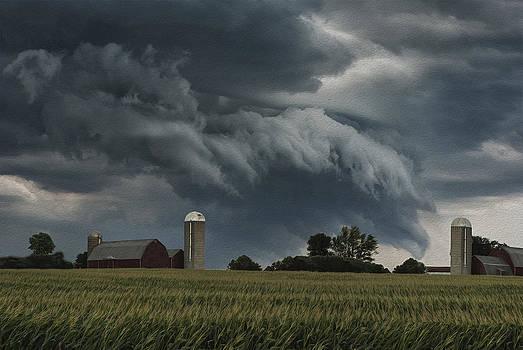 Wisconsin Farm by Jack Zulli