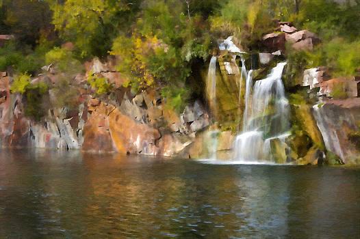Wisconsin Waterfalls by John Hix
