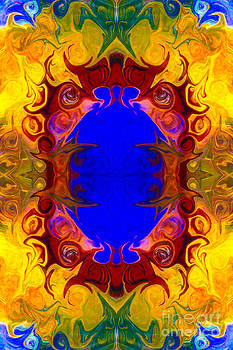 Omaste Witkowski - Wisdom of the Ages Abstract Patterned Artwork by Omaste Witkowski