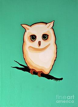Wise Little Owl by Rebecca Mott