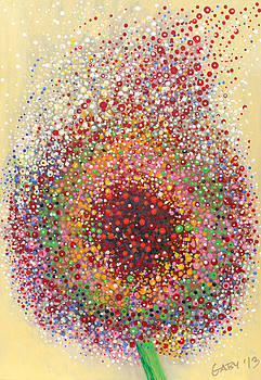 Wispy Dandelion by Gabriela Simonovski