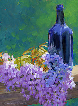 Wisteria Sky by Marguerite Chadwick-Juner
