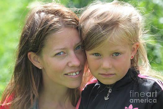 With Mother - Sweden. by  Andrzej Goszcz