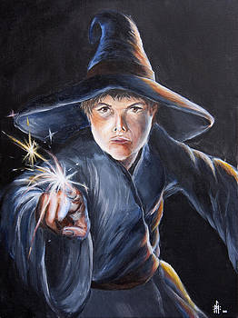 Wizard's First Spell by Louis Monnich