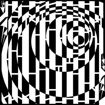 Wobbly Circles Maze  by Yonatan Frimer Maze Artist