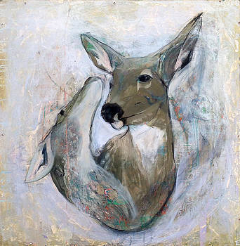 Wolf becomes the Deer by Erin Barker