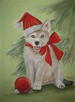 Wolf Cub for Christmas by Teresa LeClerc