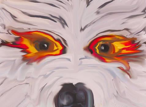 Wolf fiend by Moya Moon