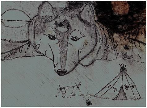 Wolf Mountain by Shaunna Juuti