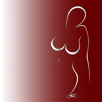 Woman 14 by Gabriela Maria PASCENCO