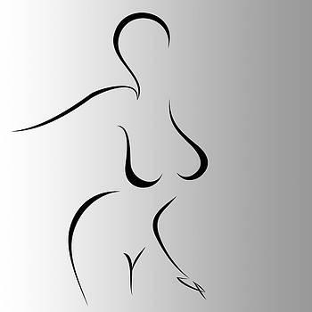Woman 4 by Gabriela Maria PASCENCO