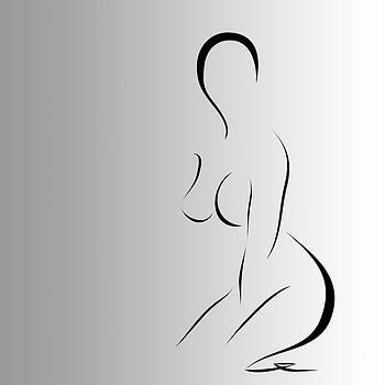 Woman 6 by Gabriela Maria PASCENCO