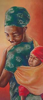 Woman and child by Idorenyin Sam Awak