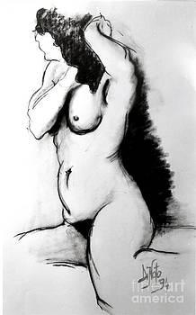 Alessandra Di Noto - Woman at bath