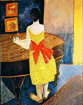 Woman At Piano by Donovan OMalley