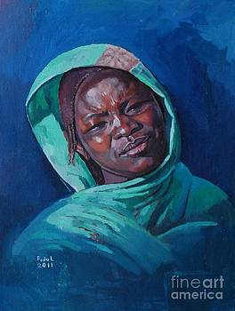 Woman from Darfur by Mohamed Fadul