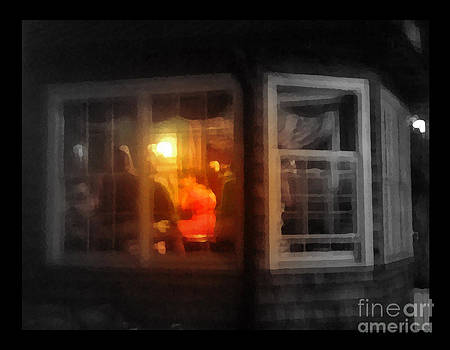 Photographs In Motion - Woman in Red