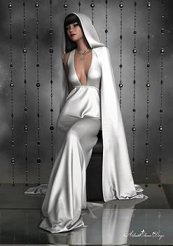 Woman in White by Rachel Dudley