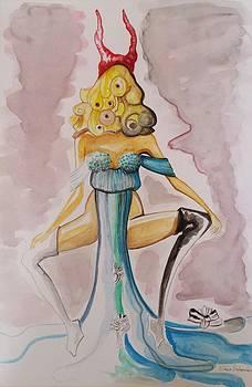 Woman Not  by Ellada Amvrosiadou