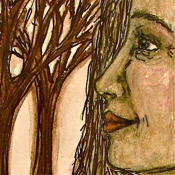 Sandy Tolman - Woman of the Forest Detail Two