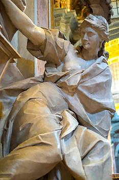 Woman Statue in Vatican by SM Shahrokni