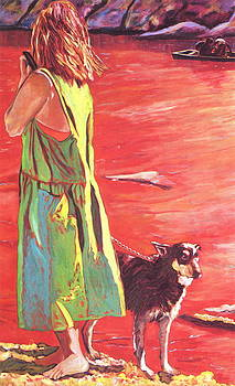 Woman Watching by Dorothy Braudy