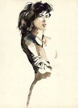 Alfred Ng - woman with black hair